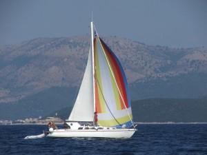 Die SunSuLa mit Blister von Korfu nach Levkas