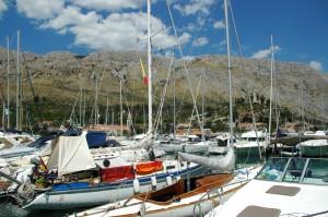 In der ACI-Marina Dubrovnik