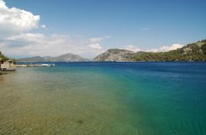 Sauberes Meerwasser gibt es hier genug