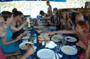 Leckeres Essen von Mehmets und Resuls Mama zubereitet