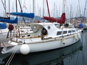 Die SunSuLa in der Netsel Marina, Marmaris
